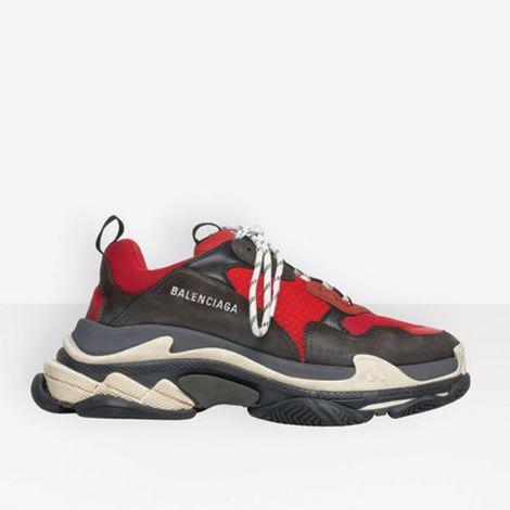 Balenciaga Ayakkabı Triple S Kırmızı #Balenciaga #Ayakkabı #BalenciagaAyakkabı #Erkek #BalenciagaTriple S #Triple S