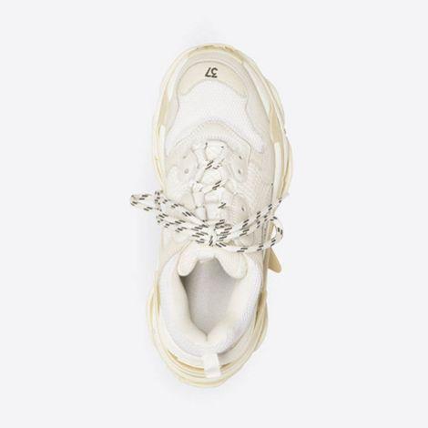 Balenciaga Ayakkabı Triple S Beyaz - Balenciaga Triple S Trainers Ayakkabi Kadin Beyaz