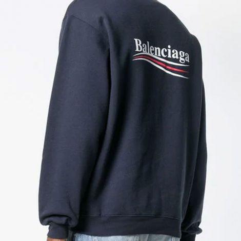 Balenciaga Sweatshirt Logo Lacivert #Balenciaga #Sweatshirt #BalenciagaSweatshirt #Erkek #BalenciagaLogo #Logo