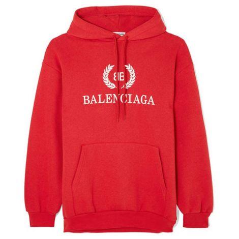 Balenciaga Sweatshirt BB Kırmızı #Balenciaga #Sweatshirt #BalenciagaSweatshirt #Kadın #BalenciagaBB #BB