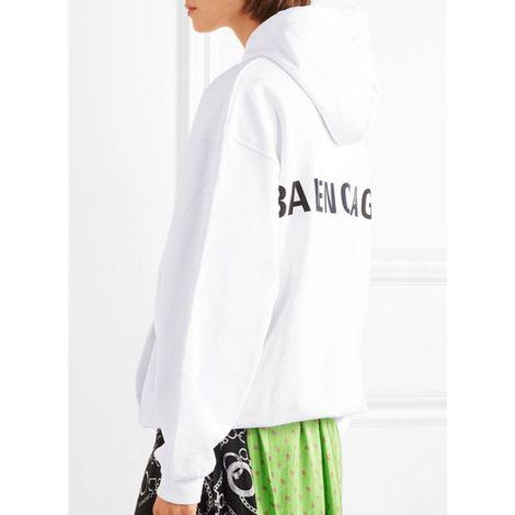 Balenciaga Sweatshirt Jersey Beyaz #Balenciaga #Sweatshirt #BalenciagaSweatshirt #Kadın #BalenciagaJersey #Jersey
