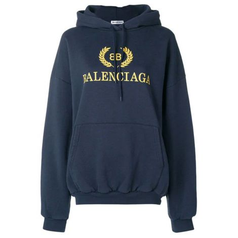 Balenciaga Sweatshirt BB Lacivert #Balenciaga #Sweatshirt #BalenciagaSweatshirt #Kadın #BalenciagaBB #BB