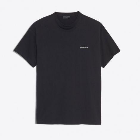 Balenciaga Tişört Logo Siyah #Balenciaga #Tişört #BalenciagaTişört #Erkek #BalenciagaLogo #Logo
