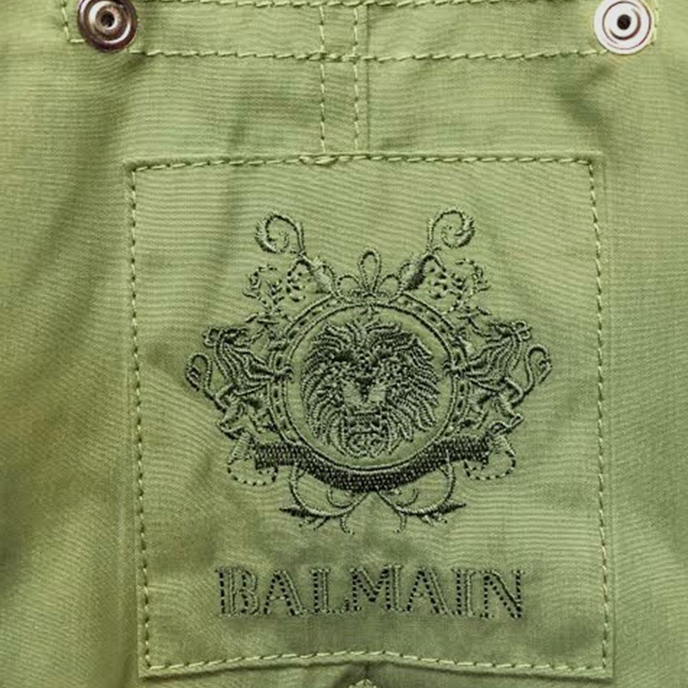 Balmain Fur Parka Yeşil - 3 #Balmain #BalmainFur #Parka - 2