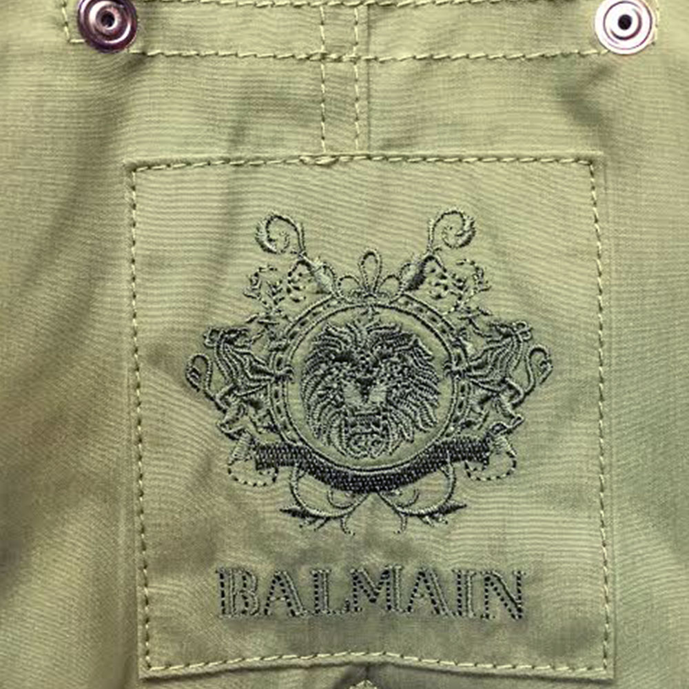 Balmain Fur Parka Yeşil - 1 #Balmain #BalmainFur #Parka - 2