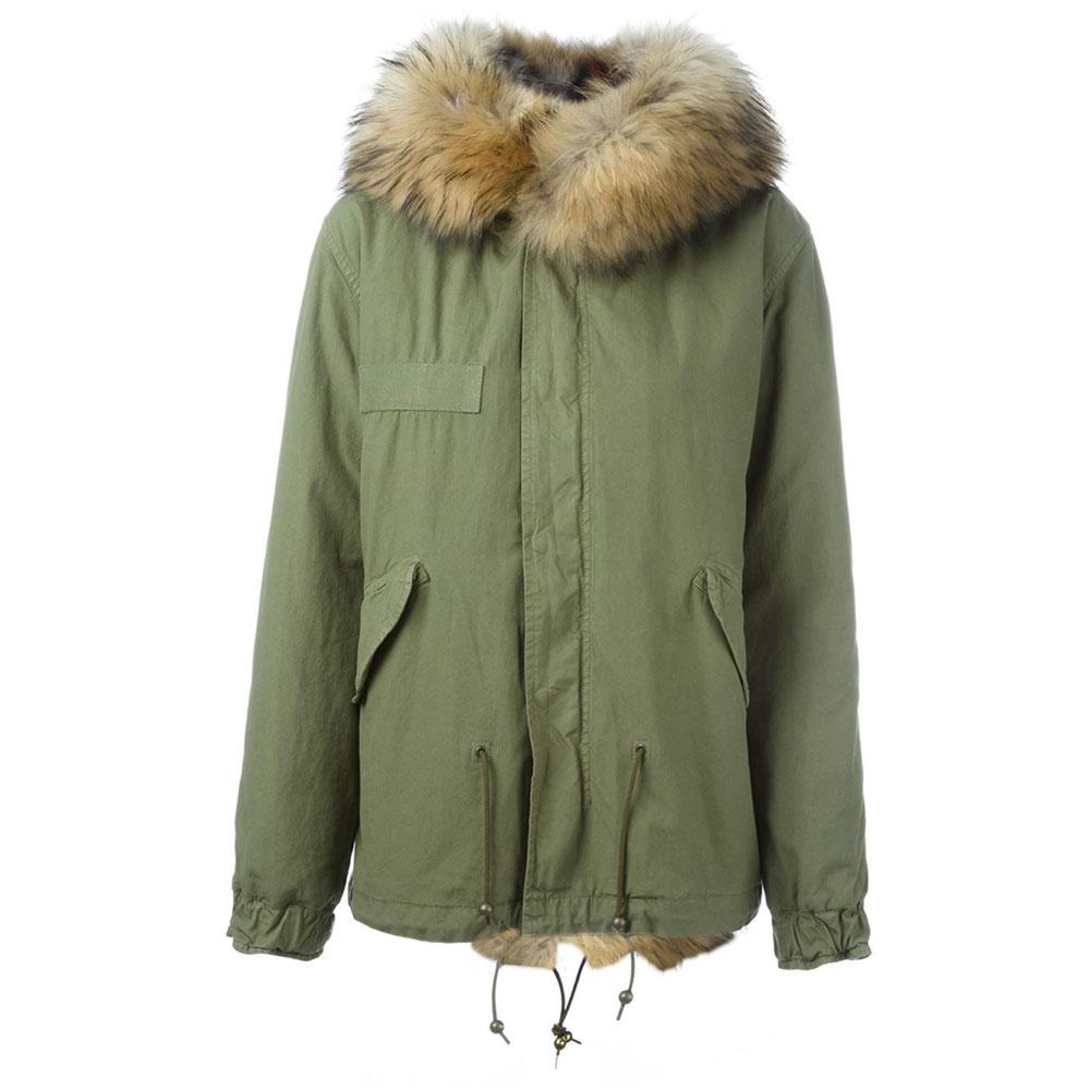 Balmain Fur Parka Yeşil - 1 #Balmain #BalmainFur #Parka