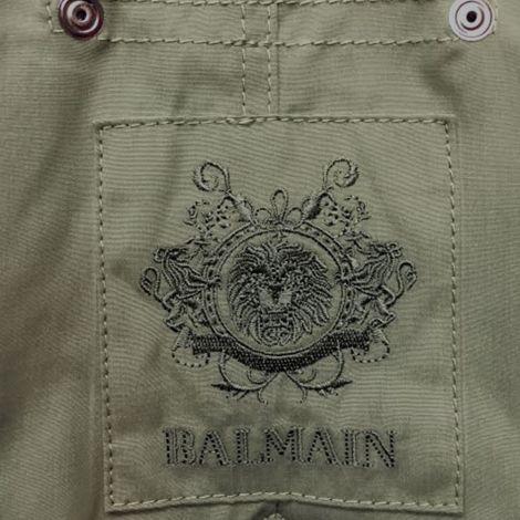 Balmain Parka Fur Asker Yeşili #Balmain #Parka #BalmainParka #Kadın #BalmainFur #Fur