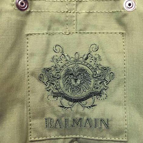 Balmain Parka Fur Yeşil #Balmain #Parka #BalmainParka #Kadın #BalmainFur #Fur
