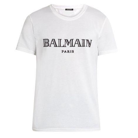 Balmain Tişört Paris Beyaz #Balmain #Tişört #BalmainTişört #Erkek #BalmainParis #Paris