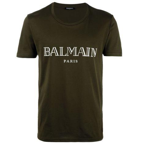 Balmain Tişört Paris Yeşil #Balmain #Tişört #BalmainTişört #Erkek #BalmainParis #Paris