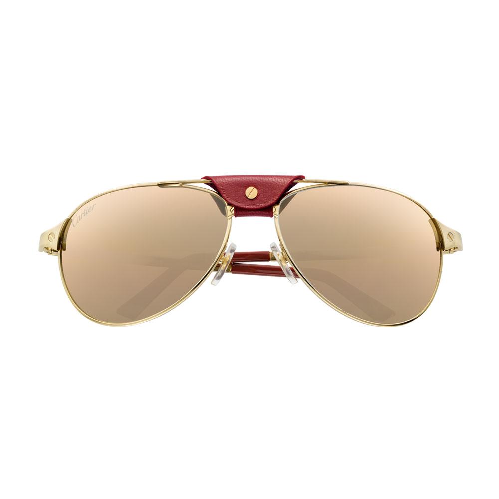 Cartier Santos Gözlük Sarı - 6 #Cartier #CartierSantos #Gözlük - 2