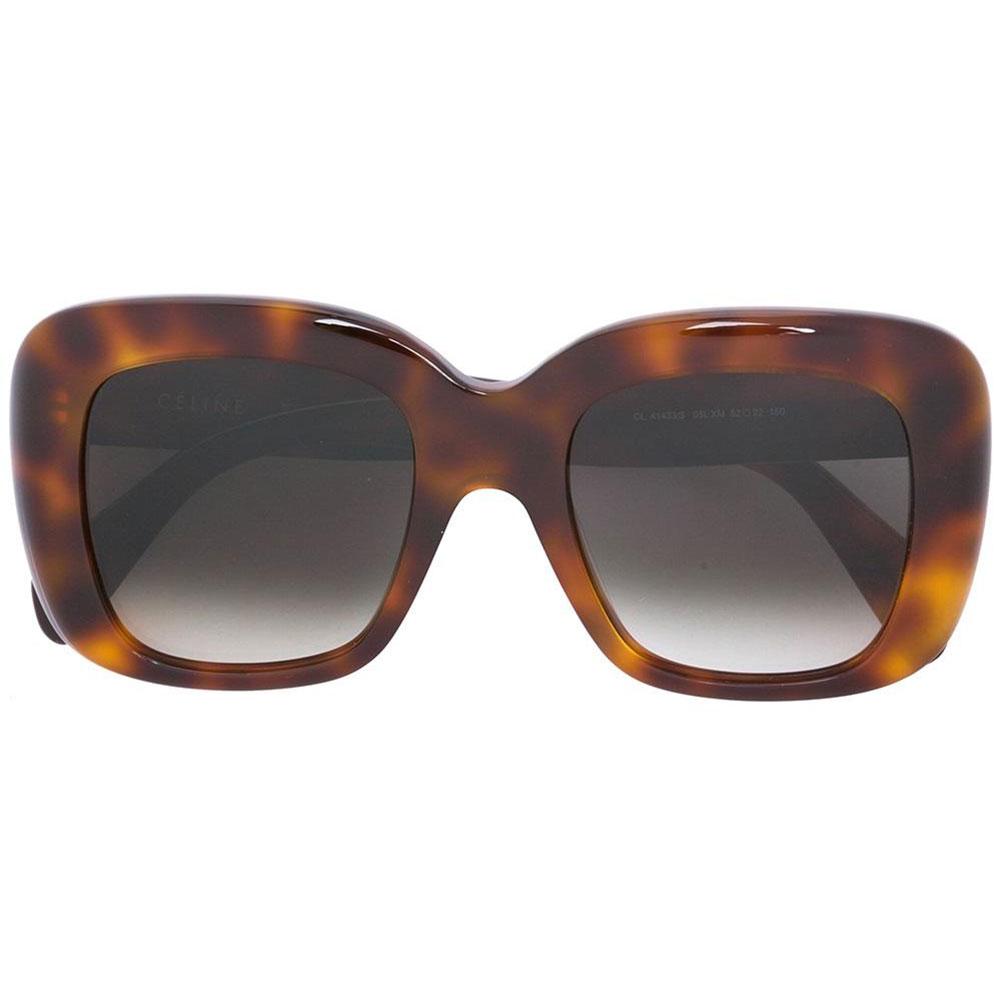 Celine Square Gözlük Kahverengi - 5 #Celine #CelineSquare #Gözlük