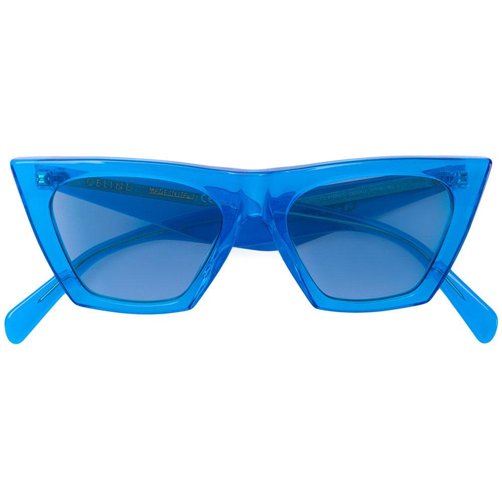 Celine Acetate Gözlük Mavi - 6 #Celine #CelineAcetate #Gözlük