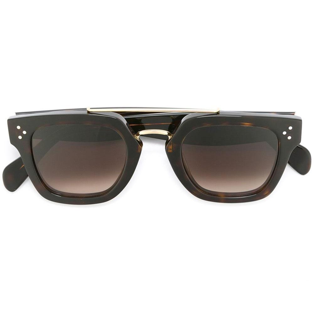Celine Square Gözlük Kahverengi - 9 #Celine #CelineSquare #Gözlük