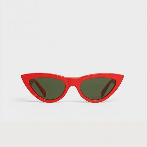 Celine Gözlük Cat Eye Kırmızı #Celine #Gözlük #CelineGözlük #Unisex #CelineCat Eye #Cat Eye