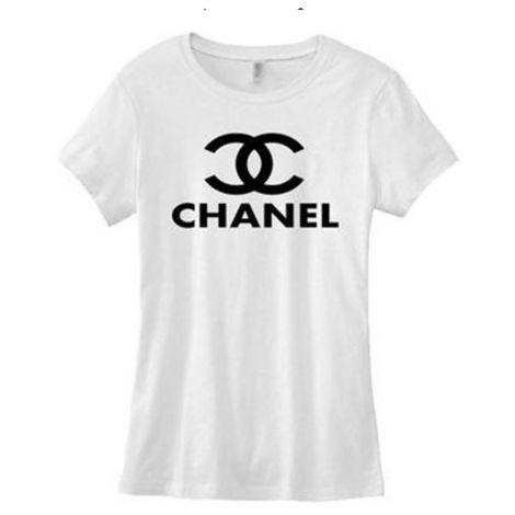 Chanel Tişört Logo Beyaz #Chanel #Tişört #ChanelTişört #Kadın #ChanelLogo #Logo