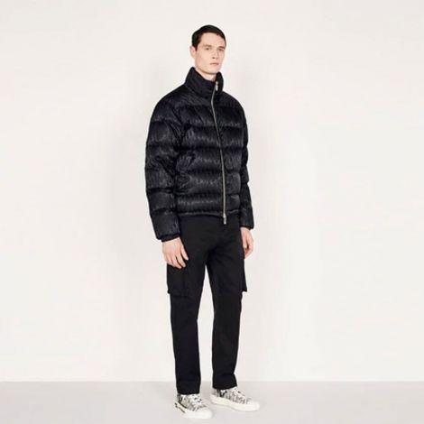 Dior Mont Jacquard Siyah - Dior Mont Oblique Down Jacket Black Jacquard Black Siyah