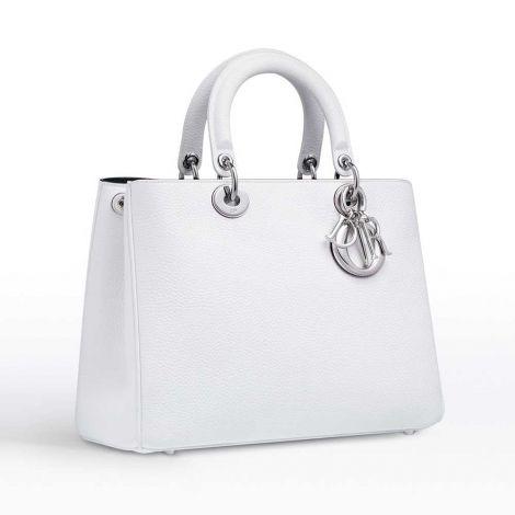 Dior Çanta Diorissimo Beyaz #Dior #Çanta #DiorÇanta #Kadın #DiorDiorissimo #Diorissimo