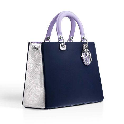 Dior Çanta Diorissimo Lila  Lacivert #Dior #Çanta #DiorÇanta #Kadın #DiorDiorissimo #Diorissimo