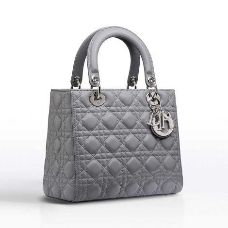 Dior Çanta Lady Dior Gri #Dior #Çanta #DiorÇanta #Kadın #DiorLady Dior #Lady Dior