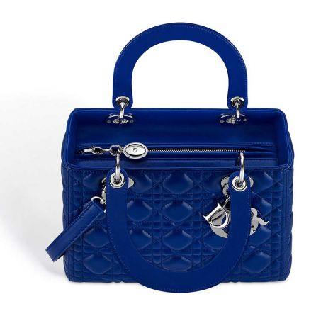 Dior Çanta Lady Dior Lacivert #Dior #Çanta #DiorÇanta #Kadın #DiorLady Dior #Lady Dior