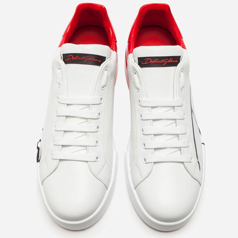 Dolce Gabbana Sneakers Ayakkabı Beyaz - 52 #Dolce Gabbana #DolceGabbanaSneakers #Ayakkabı - 4