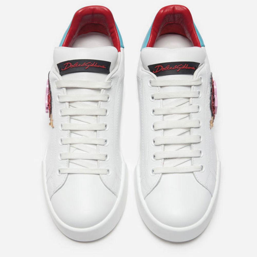 Dolce Gabbana Sneakers Ayakkabı Beyaz - 1 #Dolce Gabbana #DolceGabbanaSneakers #Ayakkabı - 4