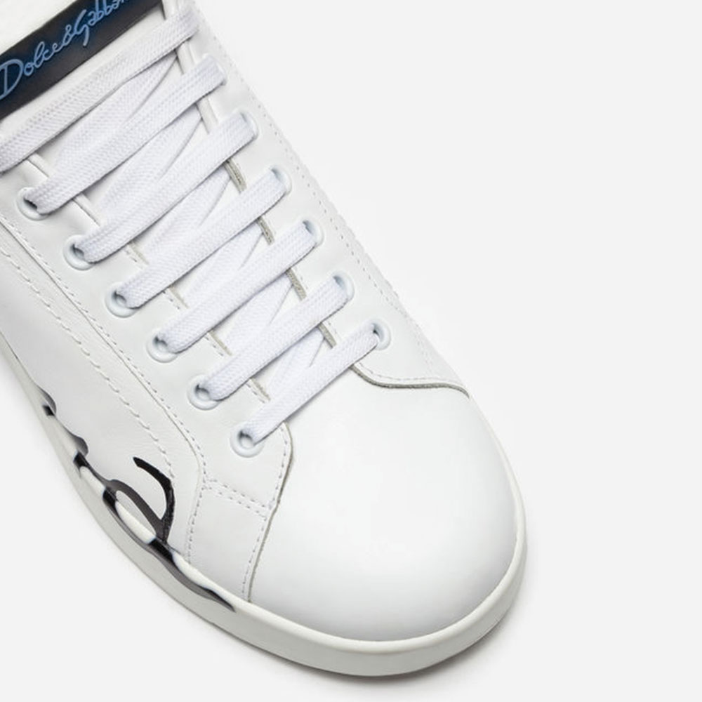 Dolce Gabbana Sneakers Ayakkabı Beyaz - 6 #Dolce Gabbana #DolceGabbanaSneakers #Ayakkabı - 2