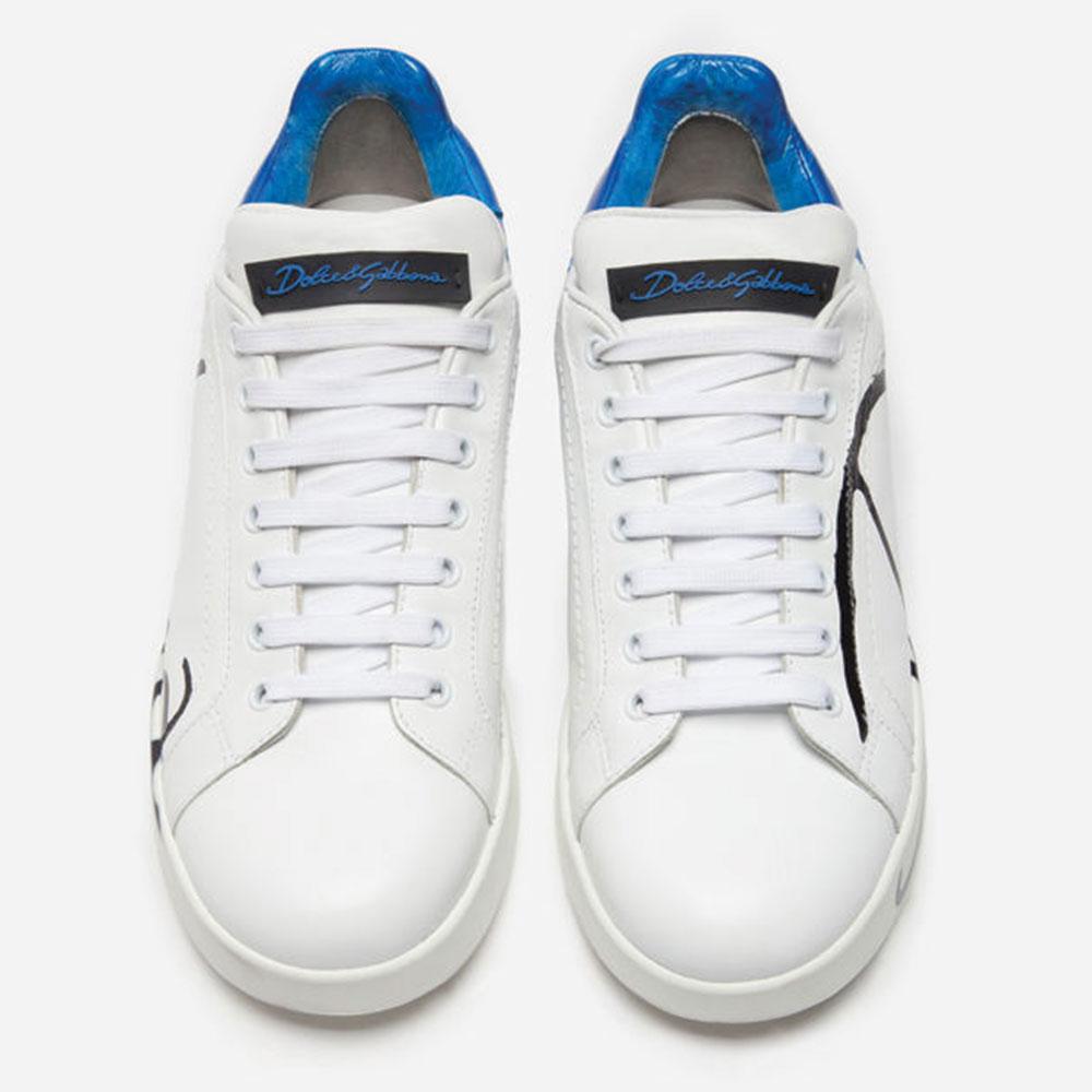 Dolce Gabbana Sneakers Ayakkabı Beyaz - 6 #Dolce Gabbana #DolceGabbanaSneakers #Ayakkabı - 4