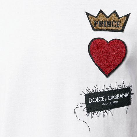 Dolce Gabbana Tişört Beyaz #DolceGabbana #Tişört #DolceGabbanaTişört #Erkek #DolceGabbana #