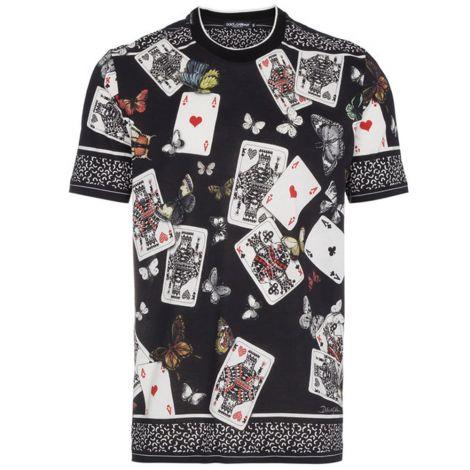 Dolce Gabbana Tişört Deck Siyah #DolceGabbana #Tişört #DolceGabbanaTişört #Erkek #DolceGabbanaDeck #Deck