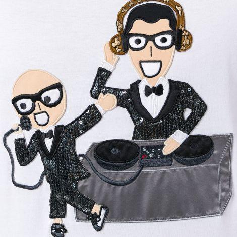 Dolce Gabbana Tişört Designers Beyaz #DolceGabbana #Tişört #DolceGabbanaTişört #Erkek #DolceGabbanaDesigners #Designers