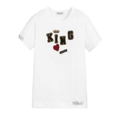 Dolce Gabbana Tişört King Tişört #DolceGabbana #Tişört #DolceGabbanaTişört #Erkek #DolceGabbanaKing #King