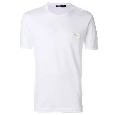 Dolce Gabbana Tişört Plaque Lacivert #DolceGabbana #Tişört #DolceGabbanaTişört #Erkek #DolceGabbanaPlaque #Plaque