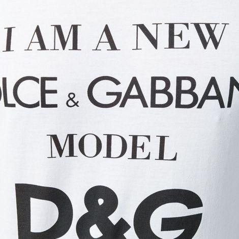 Dolce Gabbana Tişört Slogan Beyaz #DolceGabbana #Tişört #DolceGabbanaTişört #Erkek #DolceGabbanaSlogan #Slogan