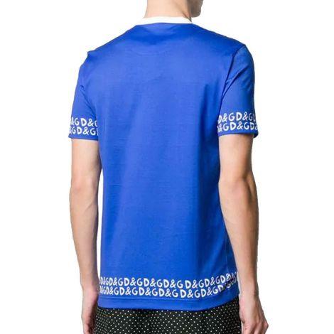 Dolce Gabbana Tişört Star Mavi #DolceGabbana #Tişört #DolceGabbanaTişört #Erkek #DolceGabbanaStar #Star