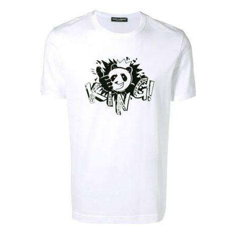 Dolce Gabbana Tişört King Beyaz #DolceGabbana #Tişört #DolceGabbanaTişört #Erkek #DolceGabbanaKing #King