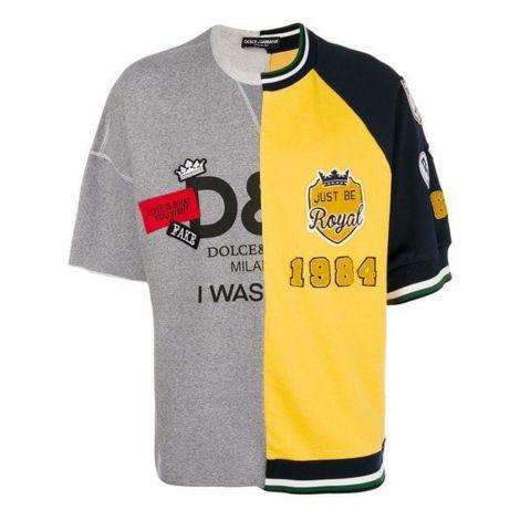 Dolce Gabbana Tişört Jersey Sarı #DolceGabbana #Tişört #DolceGabbanaTişört #Erkek #DolceGabbanaJersey #Jersey