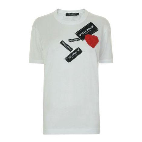Dolce Gabbana Tişört Heart Beyaz #DolceGabbana #Tişört #DolceGabbanaTişört #Erkek #DolceGabbanaHeart #Heart