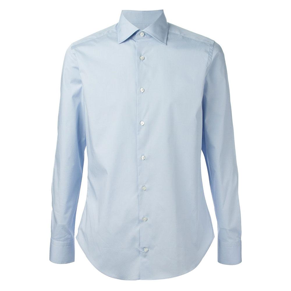 Etro Pointed Gömlek Mavi - 3 #Etro #EtroPointed #Gömlek