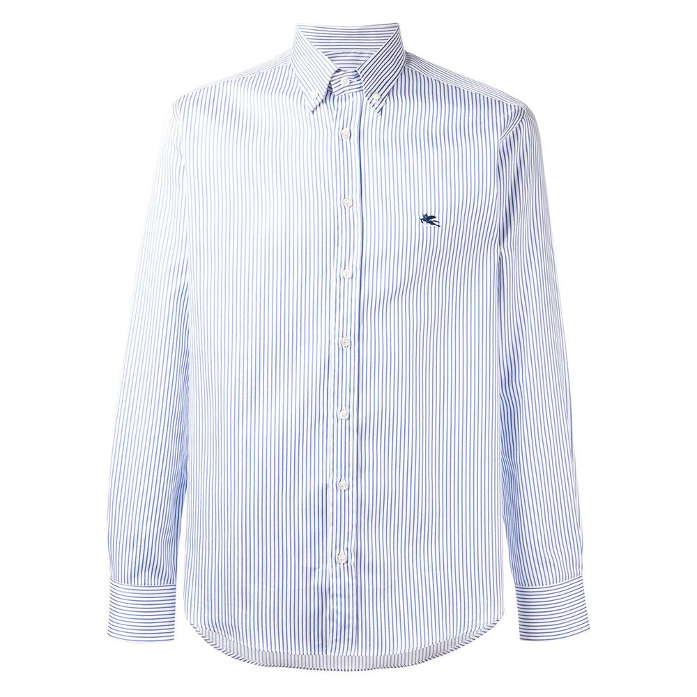 Etro Striped Gömlek Beyaz - 1 #Etro #EtroStriped #Gömlek