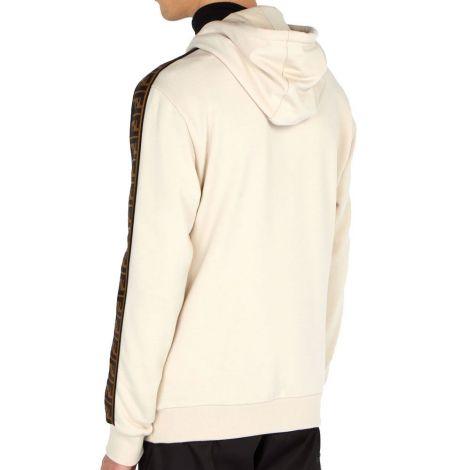 Fendi Sweatshirt FF Beyaz #Fendi #Sweatshirt #FendiSweatshirt #Erkek #FendiFF #FF