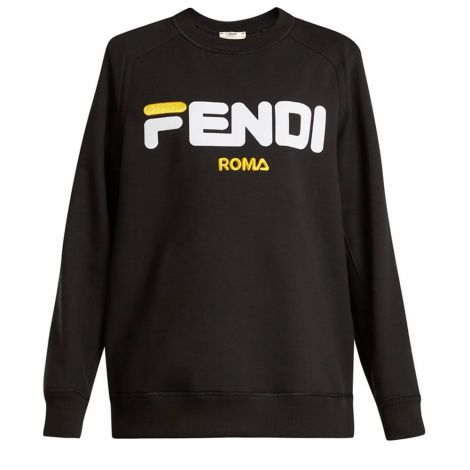 Fendi Sweatshirt Flocked Siyah #Fendi #Sweatshirt #FendiSweatshirt #Erkek #FendiFlocked #Flocked
