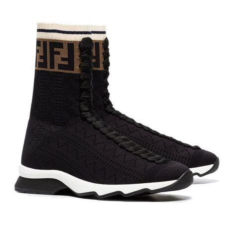 Fendi Ayakkabı Fabric Siyah #Fendi #Ayakkabı #FendiAyakkabı #Kadın #FendiFabric #Fabric