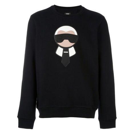 Fendi Sweatshirt Karlito Siyah #Fendi #Sweatshirt #FendiSweatshirt #Kadın #FendiKarlito #Karlito
