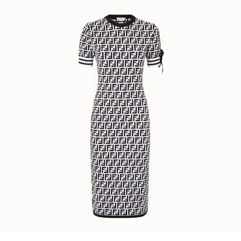 Fendi Elbise FF Siyah #Fendi #Elbise #FendiElbise #Kadın #FendiFF #FF