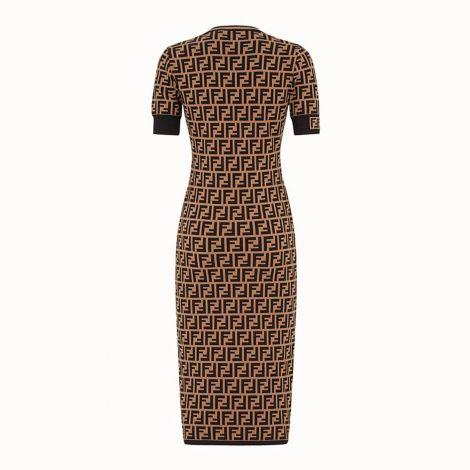 Fendi Elbise FF Krem #Fendi #Elbise #FendiElbise #Kadın #FendiFF #FF