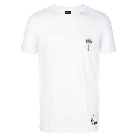 Fendi Tişört Karlito Beyaz #Fendi #Tişört #FendiTişört #Erkek #FendiKarlito #Karlito