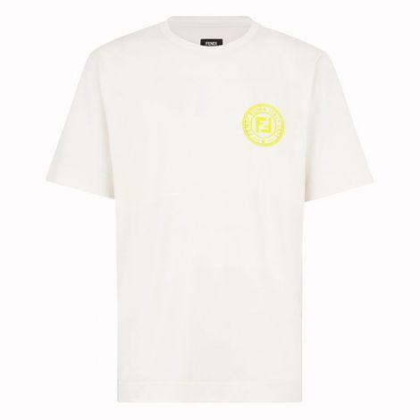 Fendi Tişört Logo Beyaz #Fendi #Tişört #FendiTişört #Erkek #FendiLogo #Logo