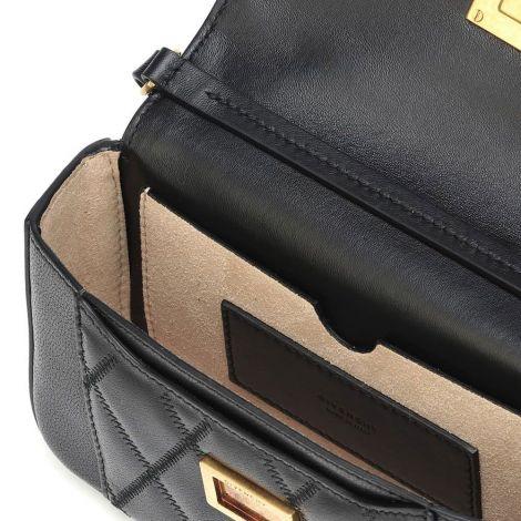 Givenchy Çanta Mini Siyah - Givenchy Canta Mini Pocket Leather Shoulder Bag El Siyah